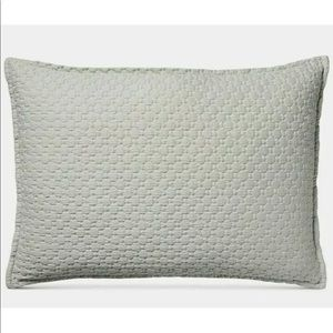 Speckle Gray Pillow Sham NWT